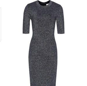 Reiss Sparkly Stretchy Dress